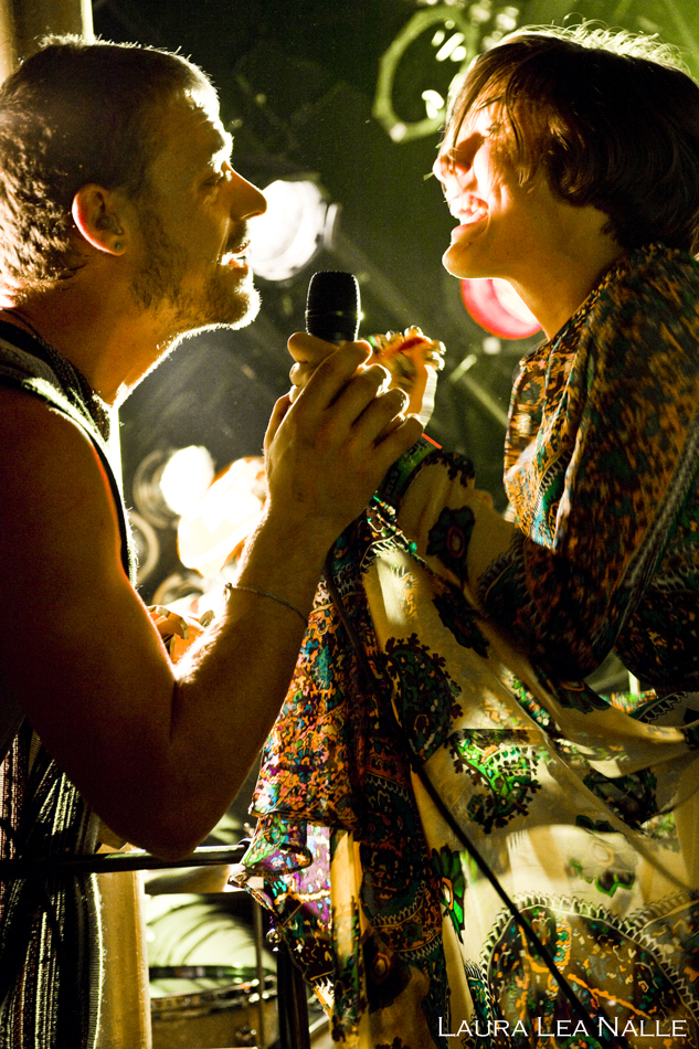 Edward Sharpe & the Magnetic Zeroes live at SXSW 2009 photo by Laura Lea Nalle