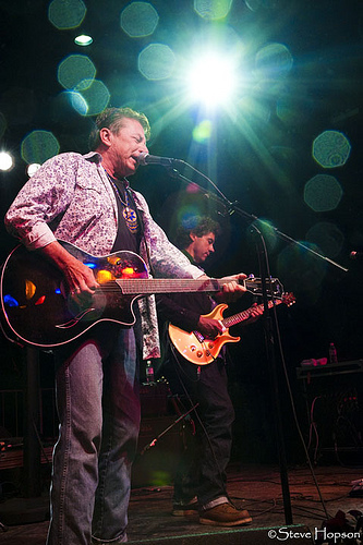 Joe Ely at Old Settler's 2010, photo be Steve Hopson