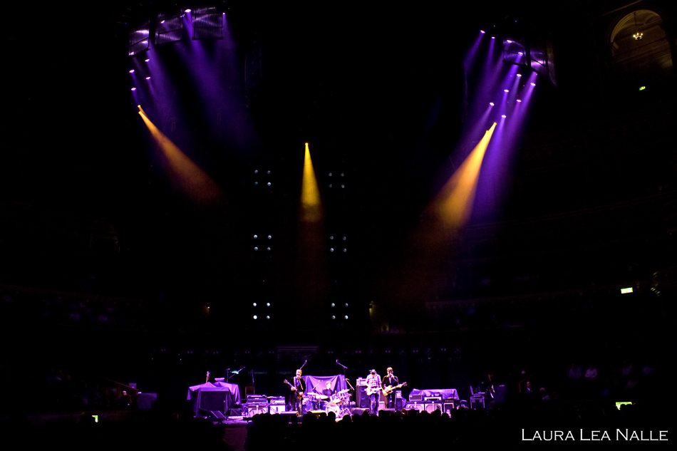 Arc Angels open for Eric Clapton at Royal Albert Hall in London, May 2009, photo by Laura Lea Nalle