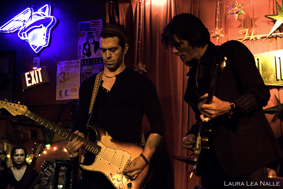 Doyle Bramhall II & Charlie Sexton of the Arc Angels live at the Continental Club, May 2009, photo by Laura Lea Nalle
