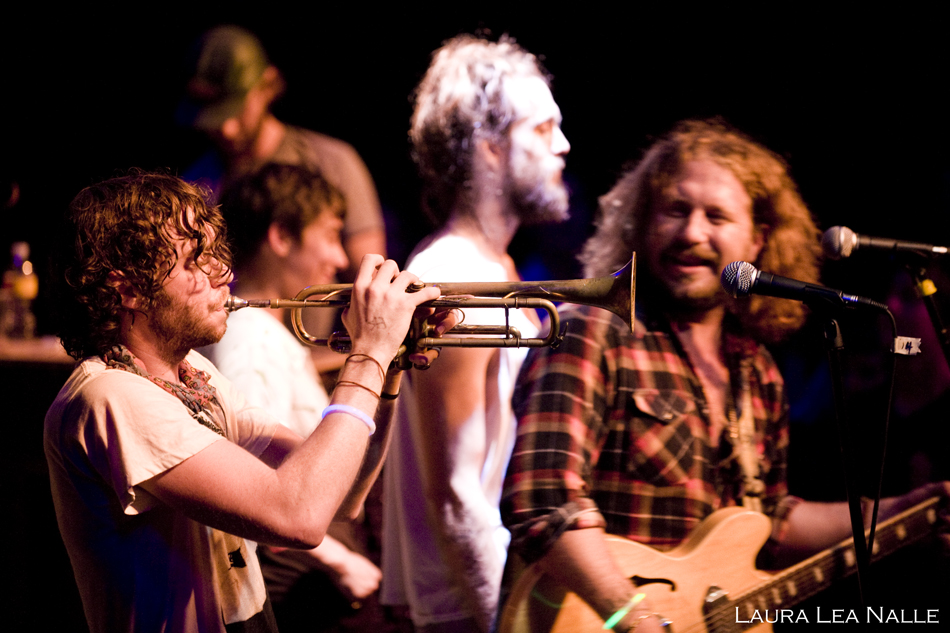 Edward Sharpe & the Magnetic Zeroes live at the Independent in Austin, Texas, November 2009 photo by Laura Lea Nalle