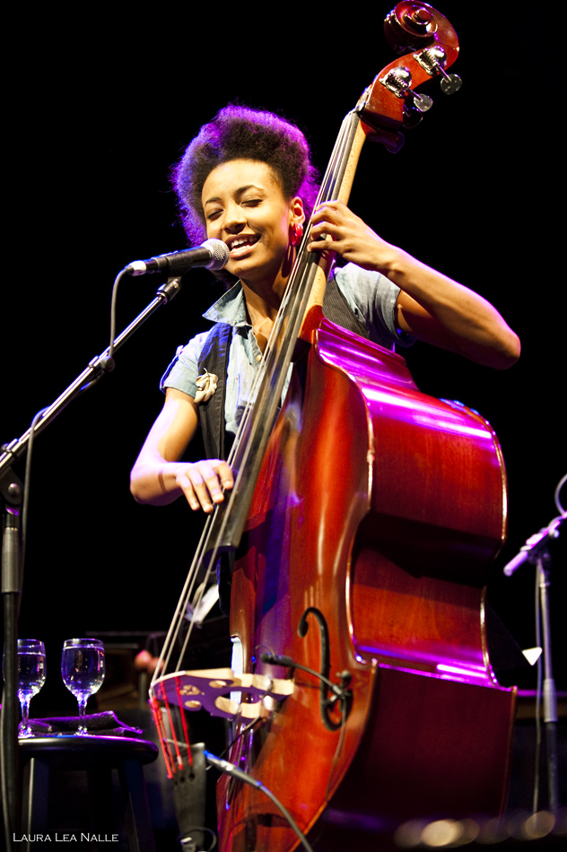 Esperanza Spalding live at Hogg Auditorium, April 2010, Austin Tx