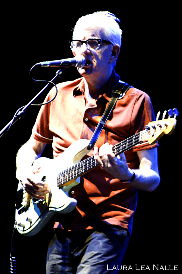 Nick Lowe performs with Ry Cooder at the Parque del Auditorium in Rome, Italy 2009 photo by Laura Lea Nalle