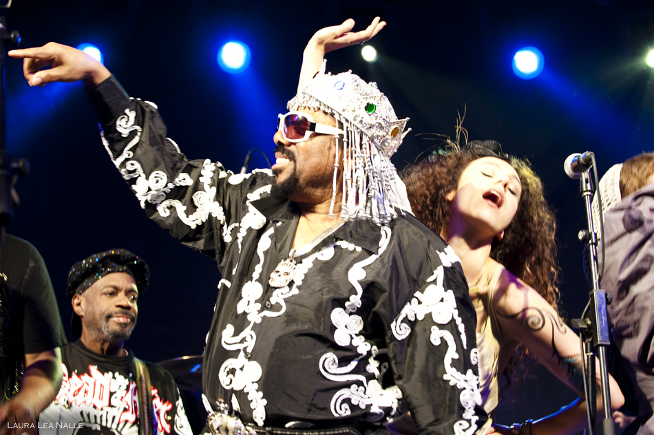 George Clinton & Parliament Funkadelic live at Stubb's, April 2010