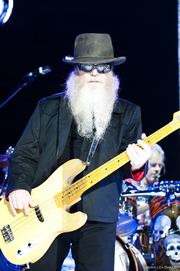 ZZ Top live at The Backyard, Austin TX, April 2010