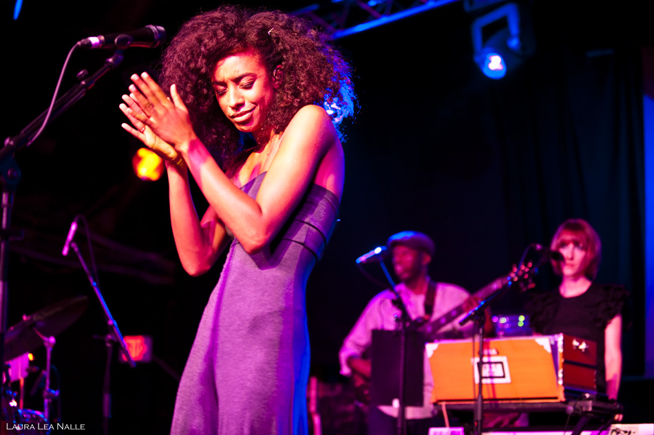 Corinne Bailey Rae live at La Zona Rosa, August 2010
