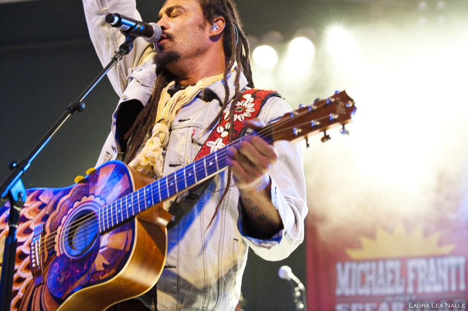 Michael Franti & Spearhead live at Stubb's, photo by Laura Lea Nalle